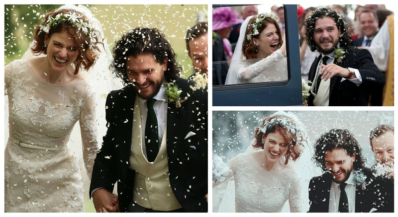 GoT fans, here's all the insider deets & pics from Jon Snow's Scottish Wedding!