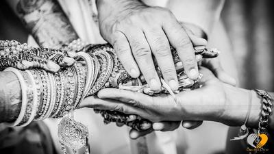Magical monochrome wedding photos captured by Camera Crew