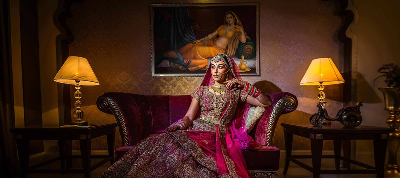 Vatsan & Tanya Jodhpur : North Indian- South Indian wedding held at Indana Palace, Jodhpur with a grand Maharani theme!