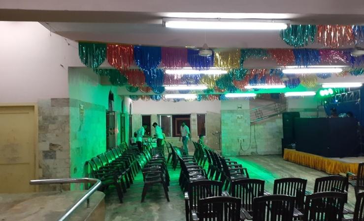 Santhasundara Mahal Perambur Chennai - Banquet Hall