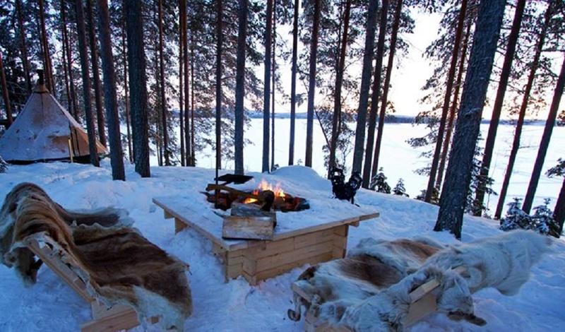 6. Jukkasjärvi, Sweden.