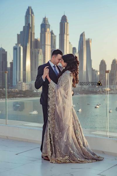 Beautiful Dubai plays host to Faisal and Zahra's wedding