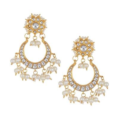 Imli Street Kundan and Pearl Bridal Party Earring