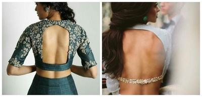 8 Cut-out Designs for Saree and Lehenga Blouses