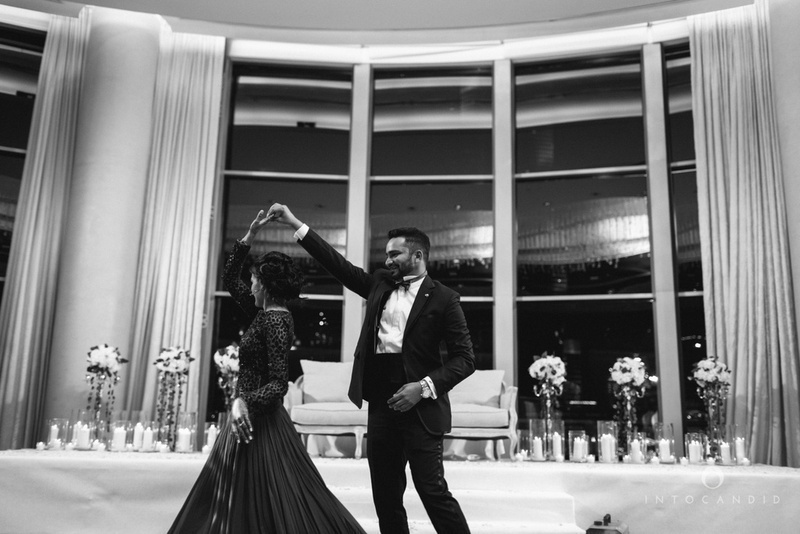 Gold And White Themed Wedding At Hyatt Regency Dubai Creek Heights