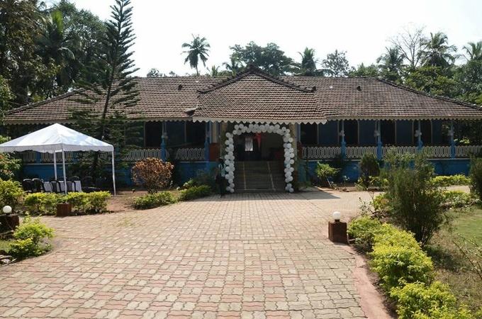 Jardim de Alegria Majorda Goa - Wedding Lawn