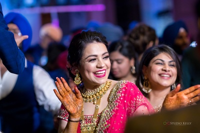 What's better than a smiling bride?