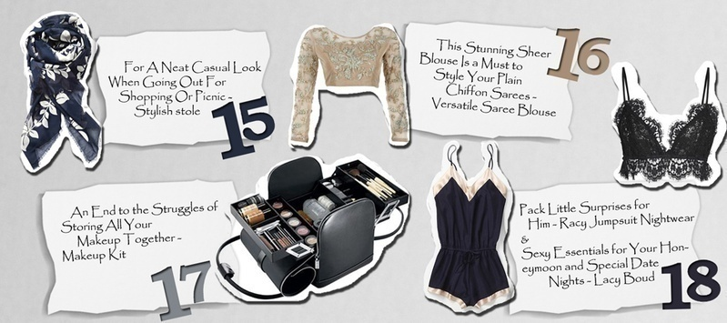 Must-Have Items You Should Stock in Your Bridal Trousseau Trunk