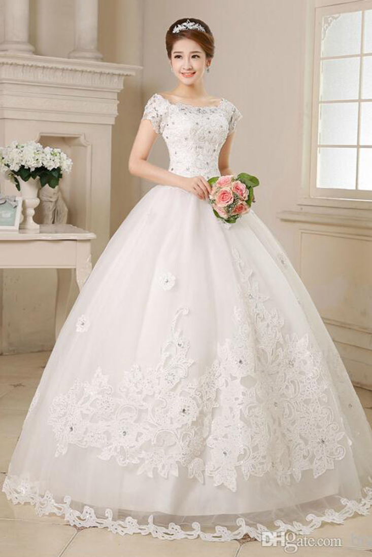 Buy Laced White Ball Gown Online Gowns Womens Wear Shop Weddingz