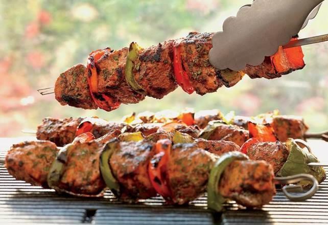 Boti Kabab is a Mughlai dish predominant in many Islamic marriage feast.