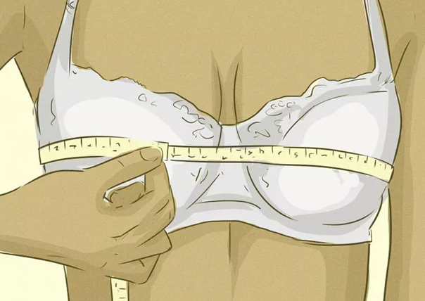 WEAR THE CORRECT BRA SIZE DURING MEASUREMENTS