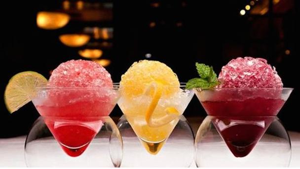 ALCOHOLIC BARAF KA GOLA (crushed ice/snow cones)