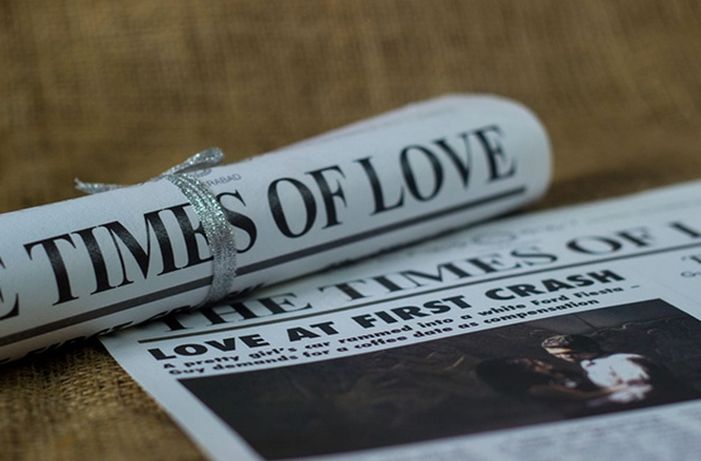 Newspaper Wedding Invitations: 10 Super-Creative Wedding Invite Ideas You Need To Check