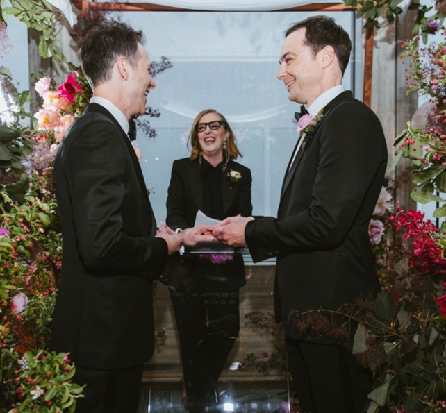 May The 4th Be With You Sheldon Cooper: 'The Big Bang Theory' Actor Jim Parsons Just Got Married