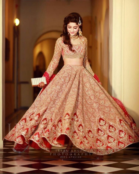 10+ Real Brides And Their Bridal Lehenga Twirls That Are # ...