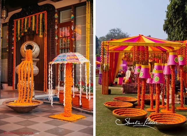 7. Marigold Installations