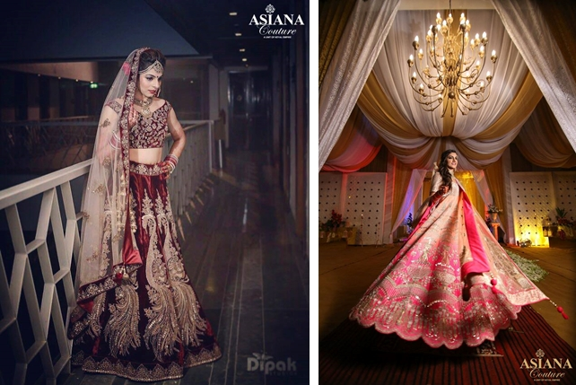 a57a83d487 ... lehenga shops in Delhi, Asiana Couture is a go-to place for the avid  shoppers. Be it custom-designed outfits, budget-friendly lehngas, or a unique  piece ...