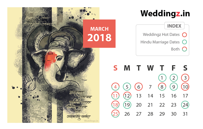 Marriage Dates 2018 Plan Your Wedding Now Blog