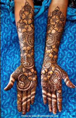 Arabic-Bridal-Mehndi-designs-for-Indian-Weddings - Blog