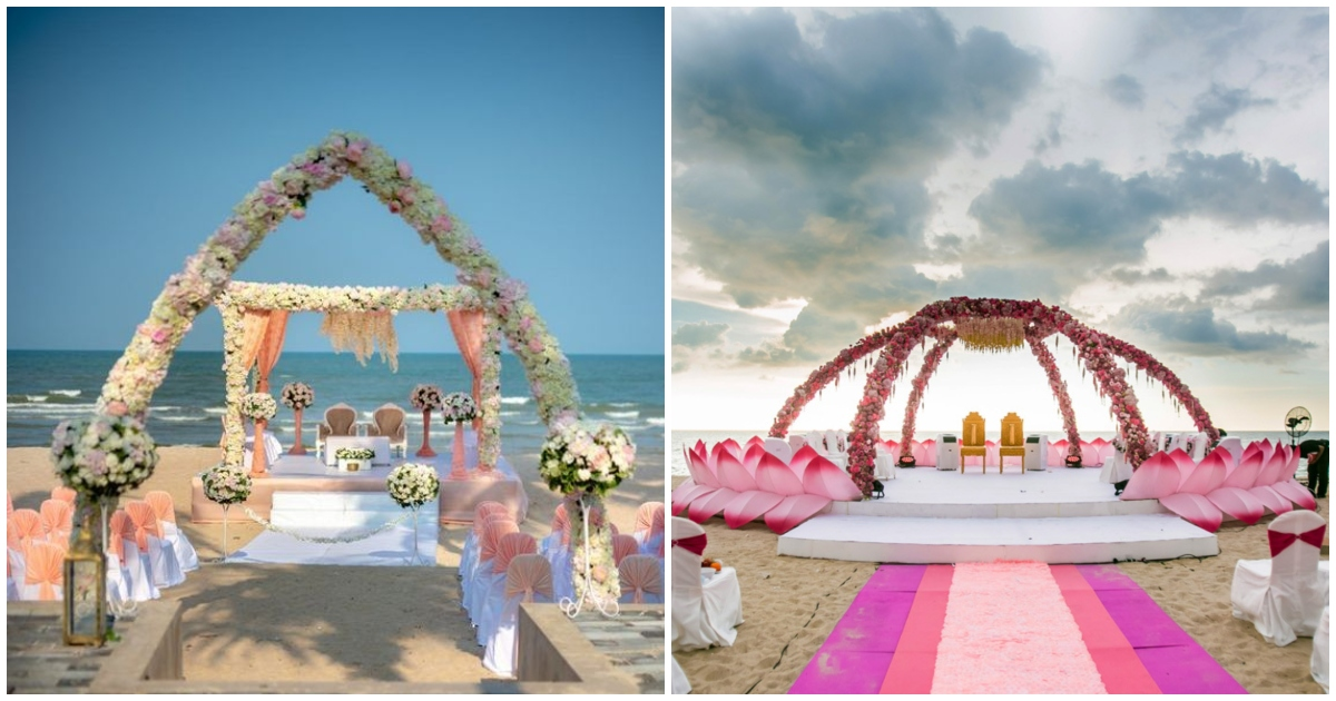 10 Beach Wedding Mandaps That You Can T Miss Blog
