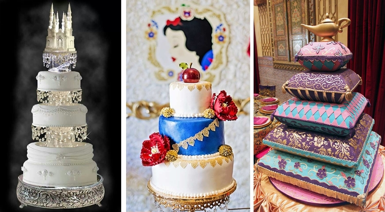 10+ Disney Princess Wedding Cakes That Are Perfect For Your Fairytale Wedding