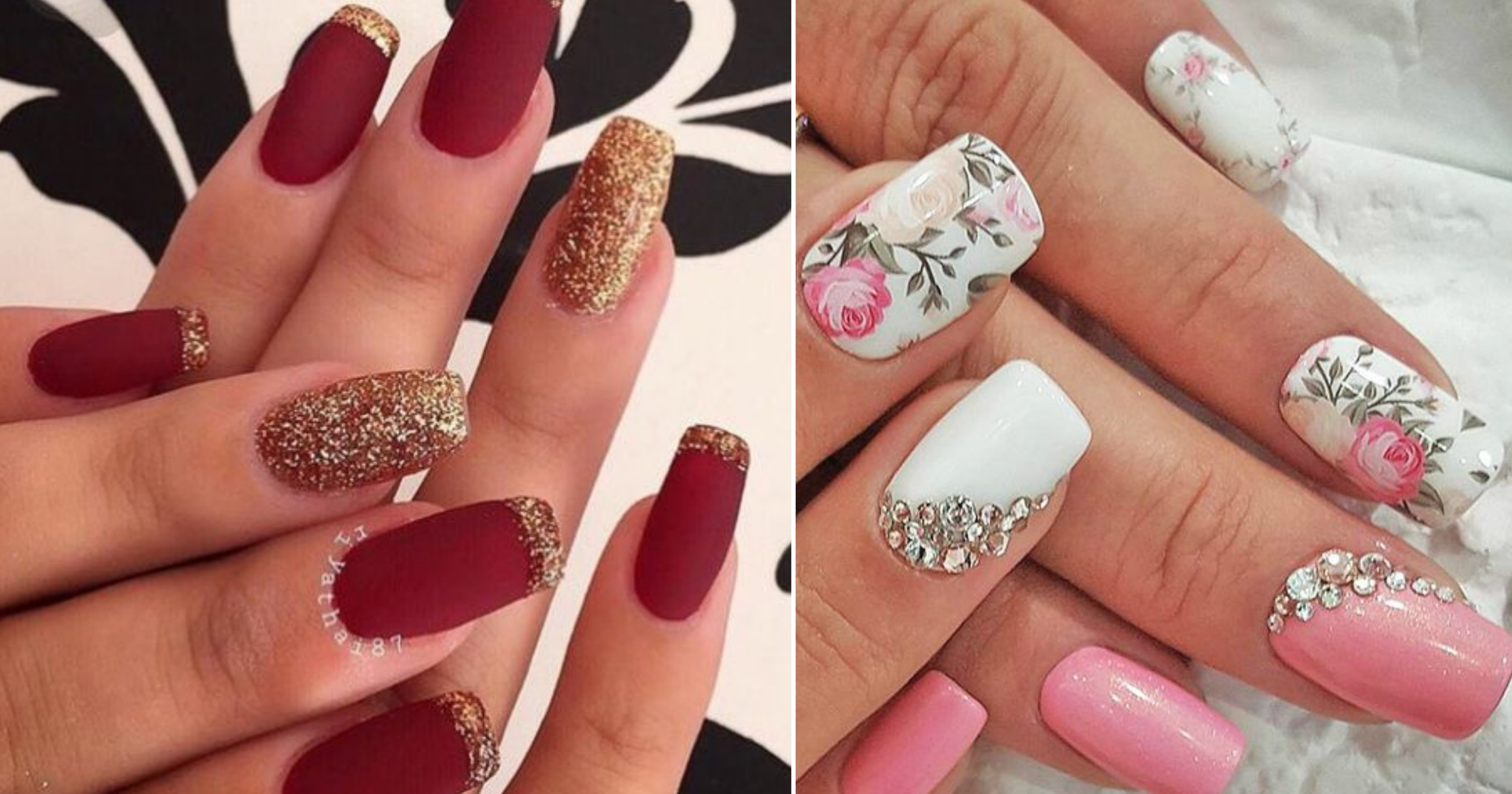 10+ Easy and Gorgeous Wedding Nail Art Design Ideas for the Indian Bride!