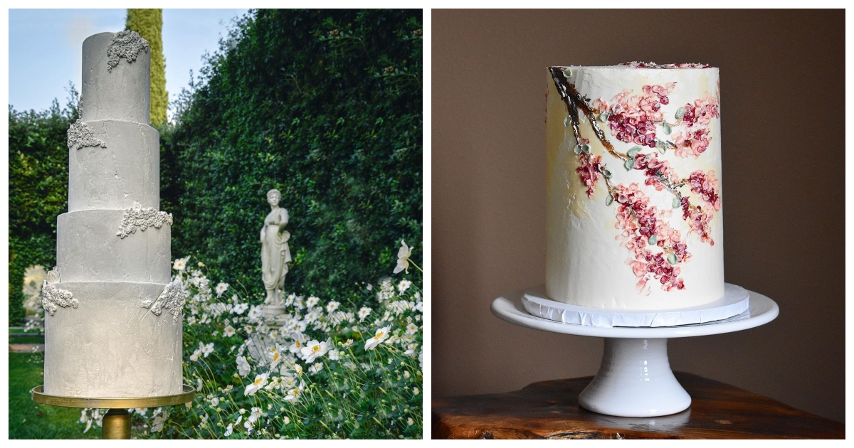 12 Cake Designs For The Modern Couple