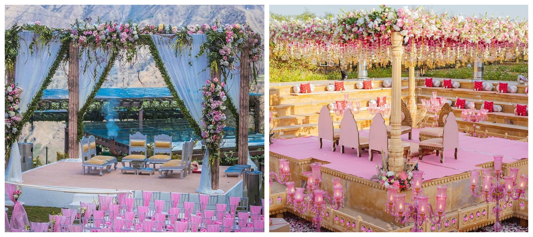 12 Mandaps which are so gorgeous, they look straight out of a fairytale wedding!