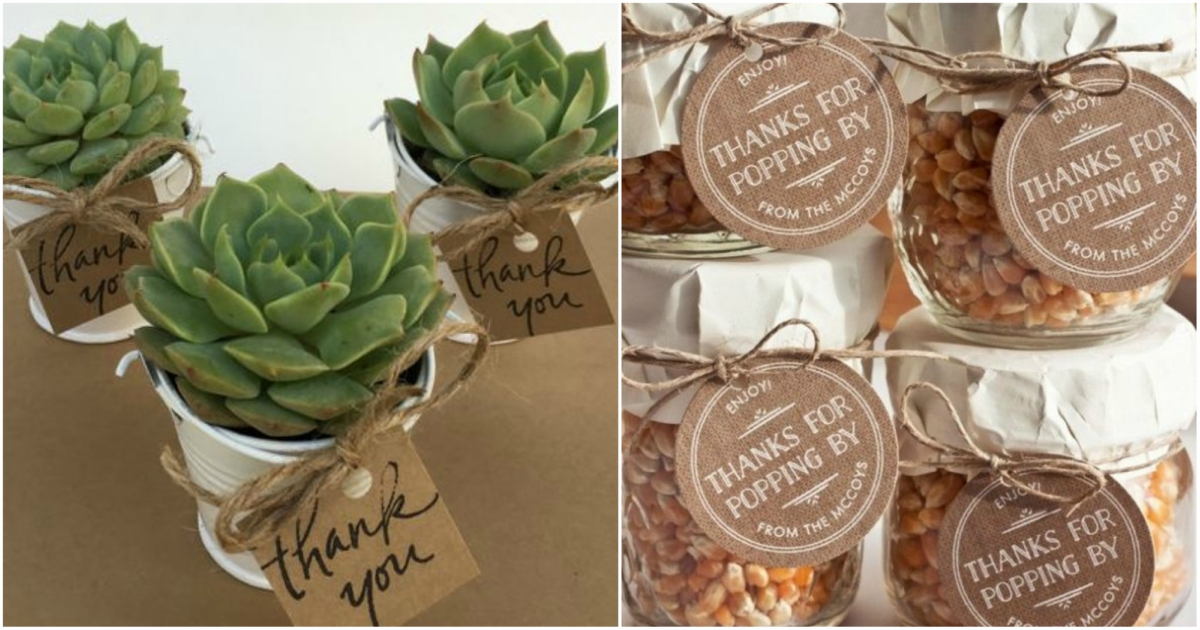 20 Different And Useful Wedding Favors Your Guests Would Actually