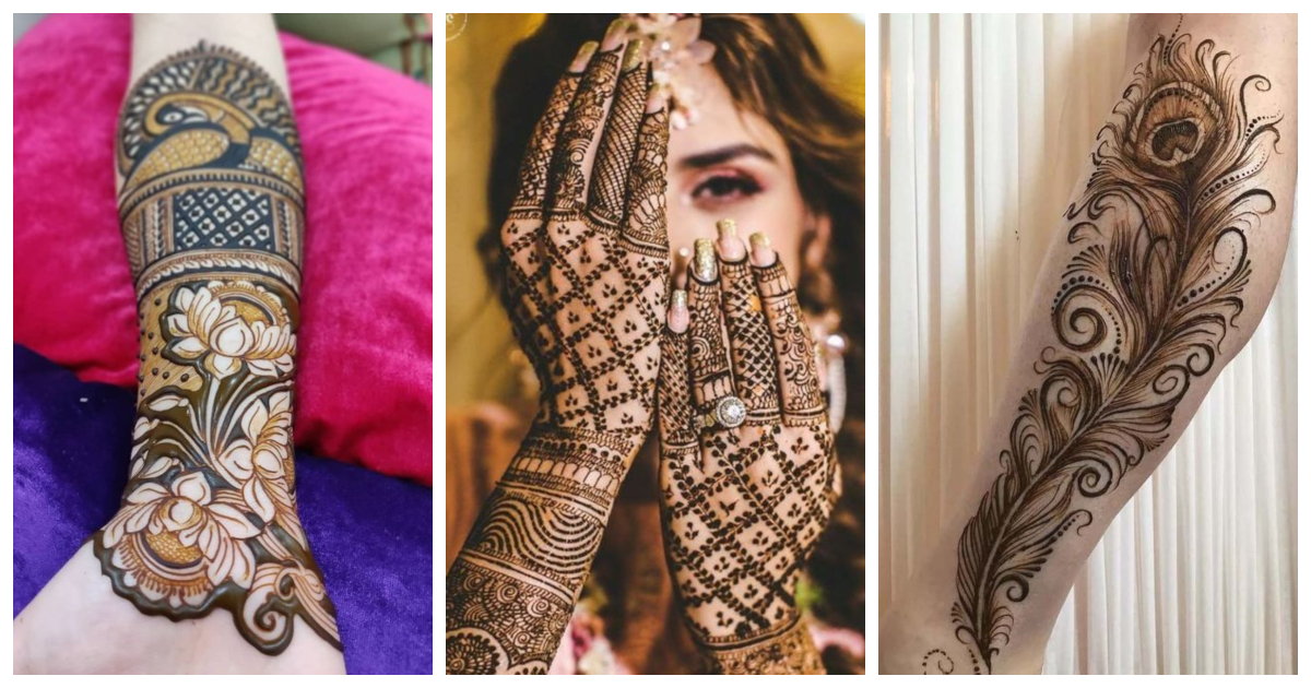 20 Stunning Festive Mehndi Designs For 2019 Wedding Ideas Wedding Blog