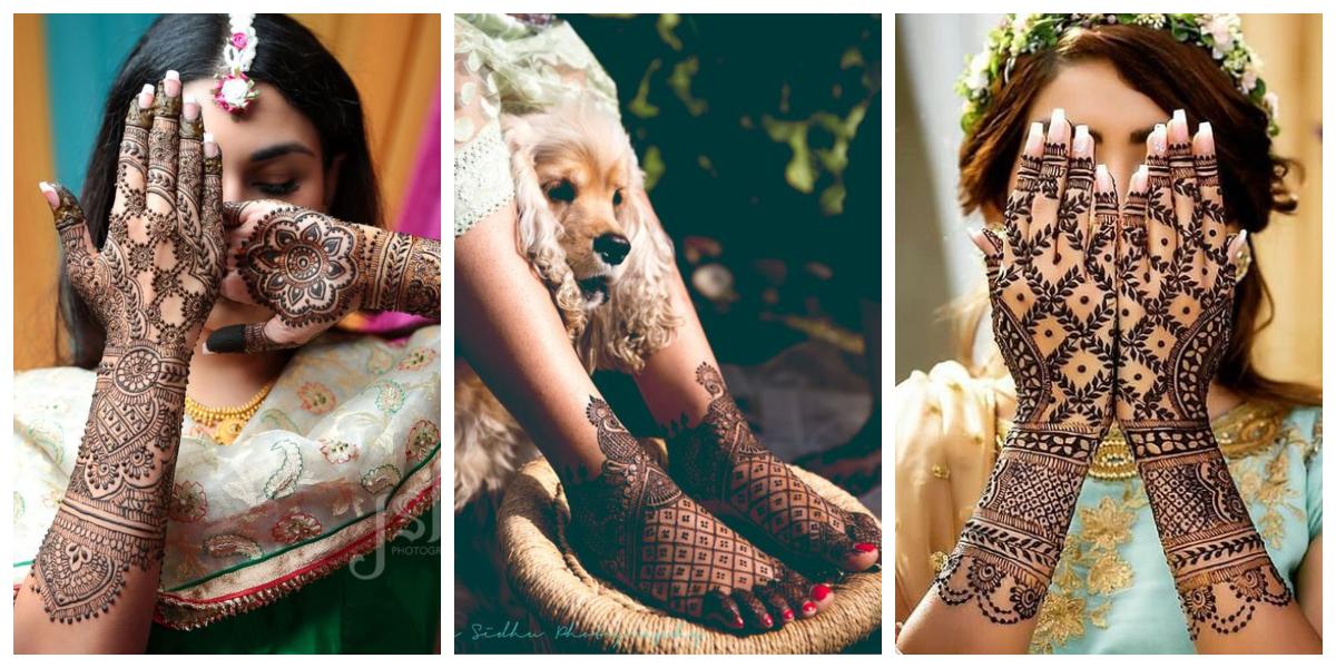 c44b24fe30 30 latest bridal mehndi designs of 2018 - Blog