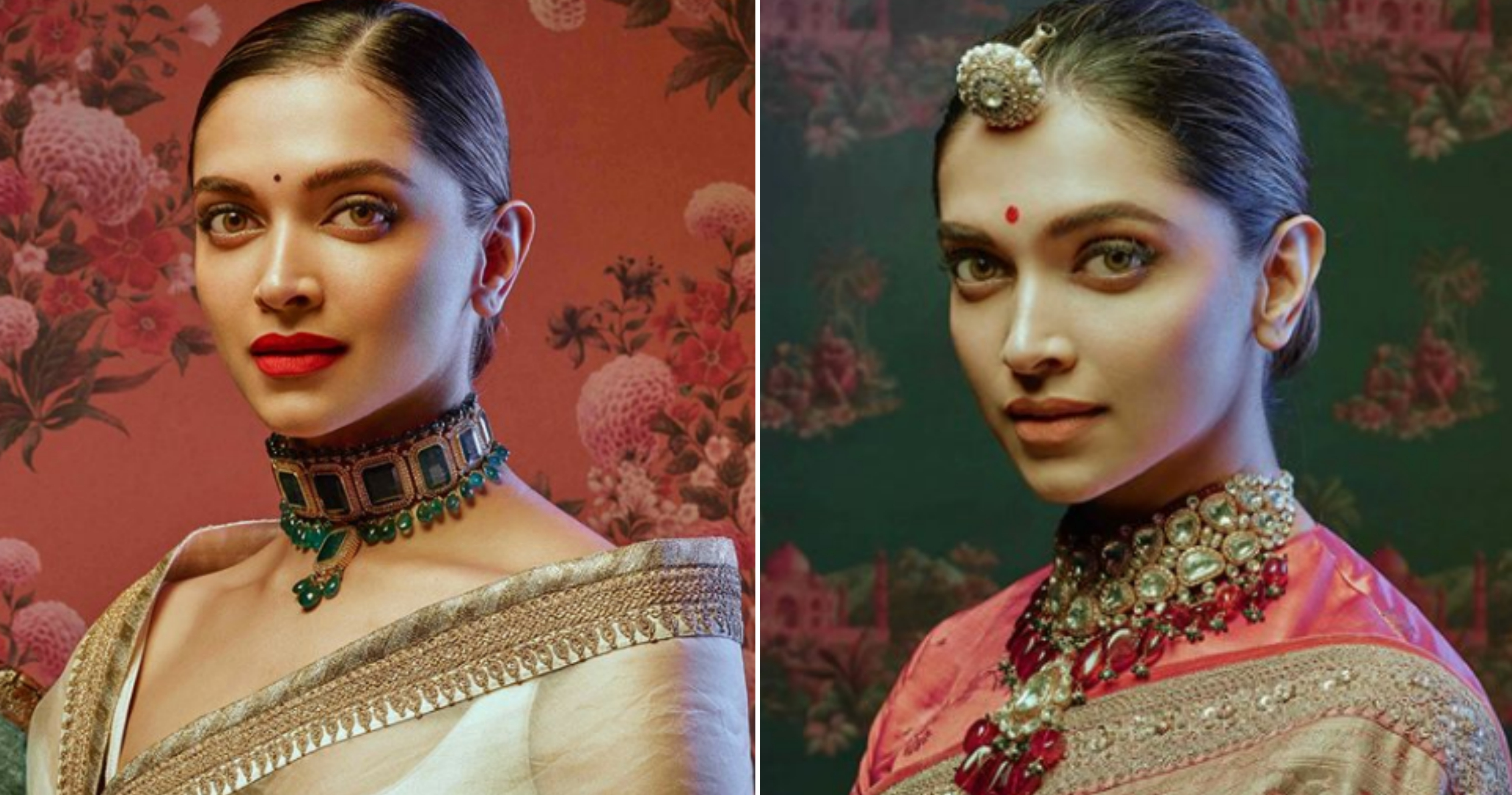 Deepika Padukone Looks Eternally Regal In Sabyasachi's Latest Collection!