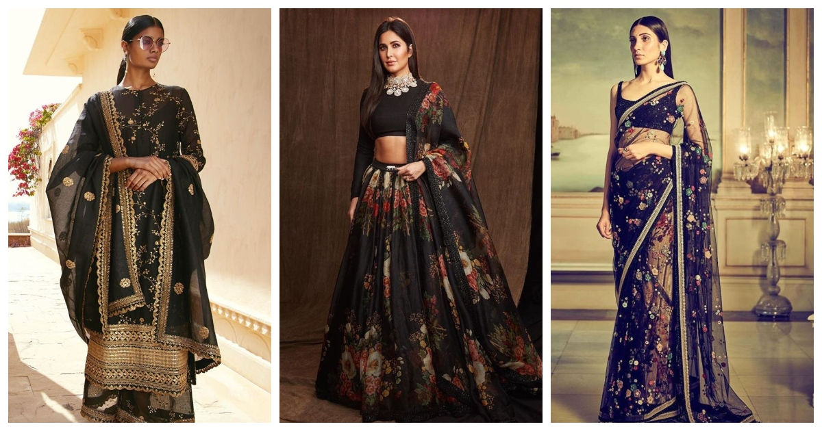 FLASHBACK: 7 Times Sabyasachi Proved that Black is the New Red!