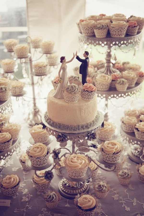 Incredibly Awesome Wedding Cakes You Would Want to Frame Than Cut!