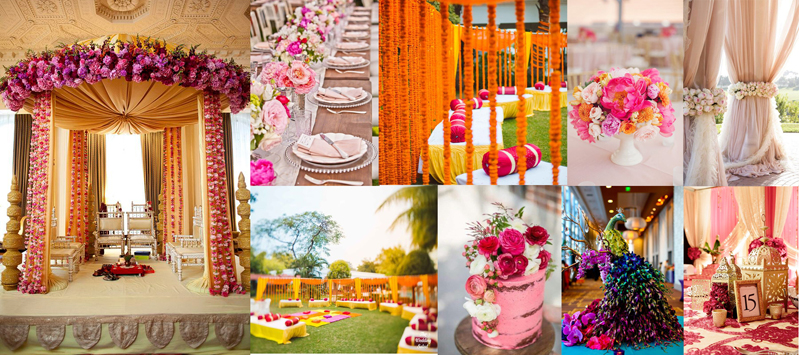 Indian Wedding Color Themes Summerweddingseries Blog