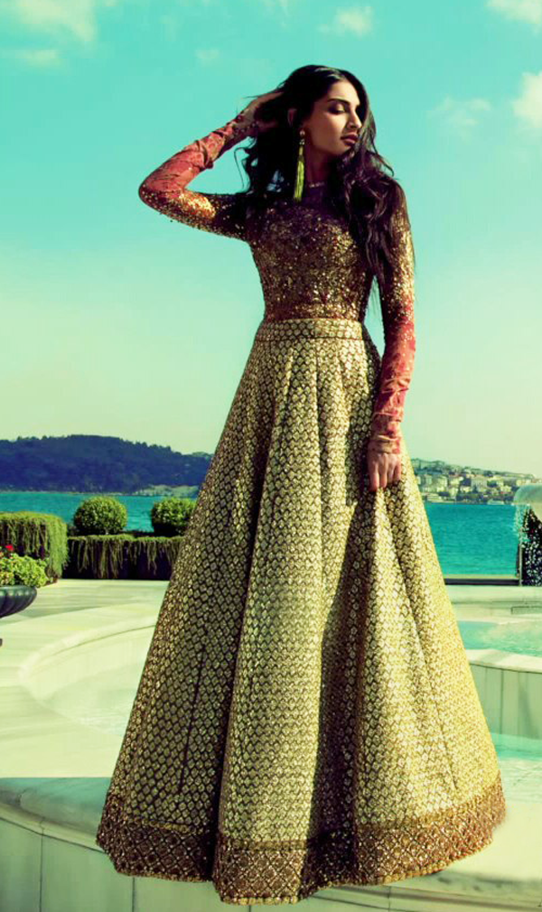 Magical Sabyasachi Lehengas worn by Our Real Brides
