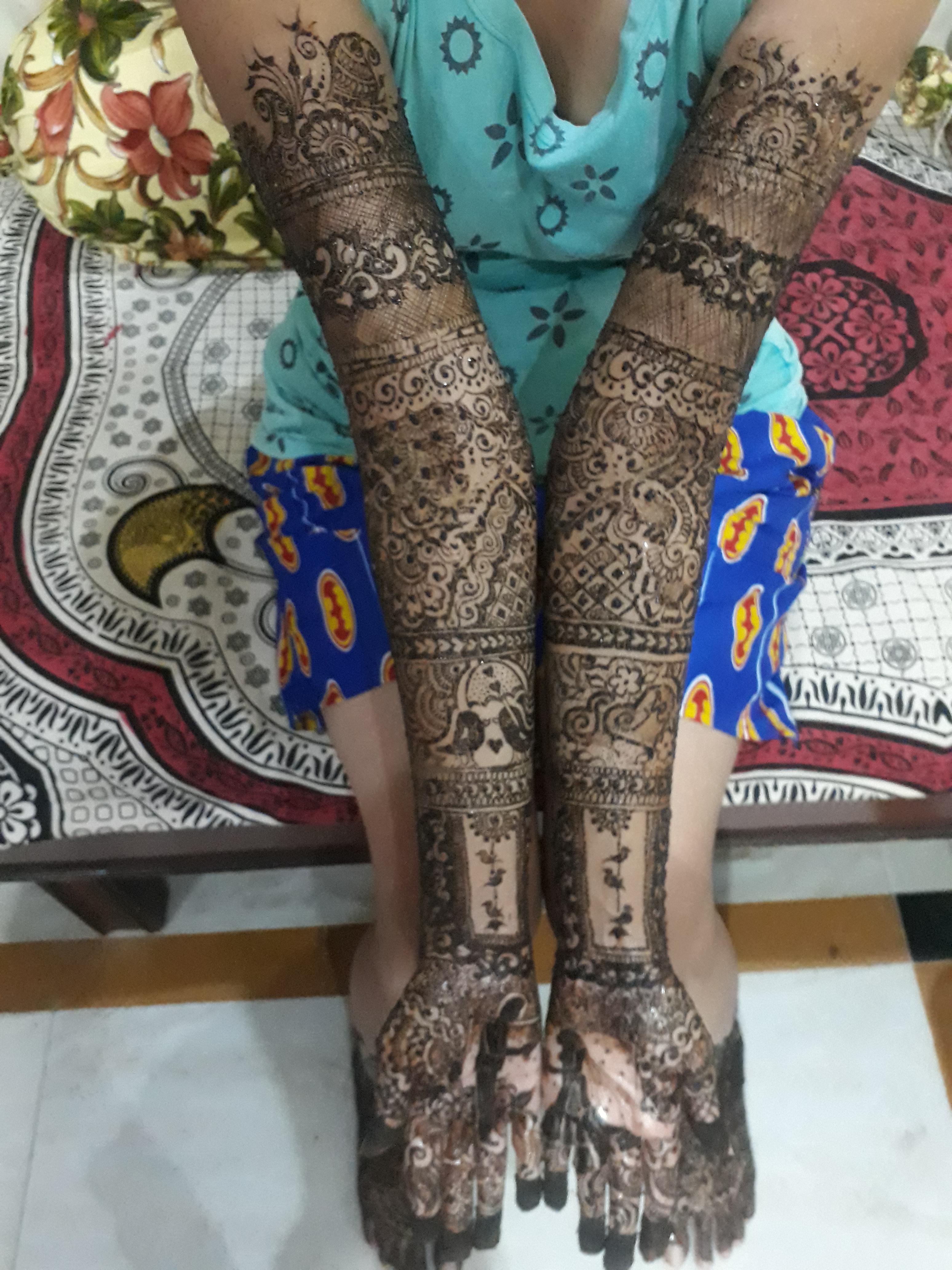Bridal Mehndi In Ahmedabad : Maitri art studio ahmedabad portfolio