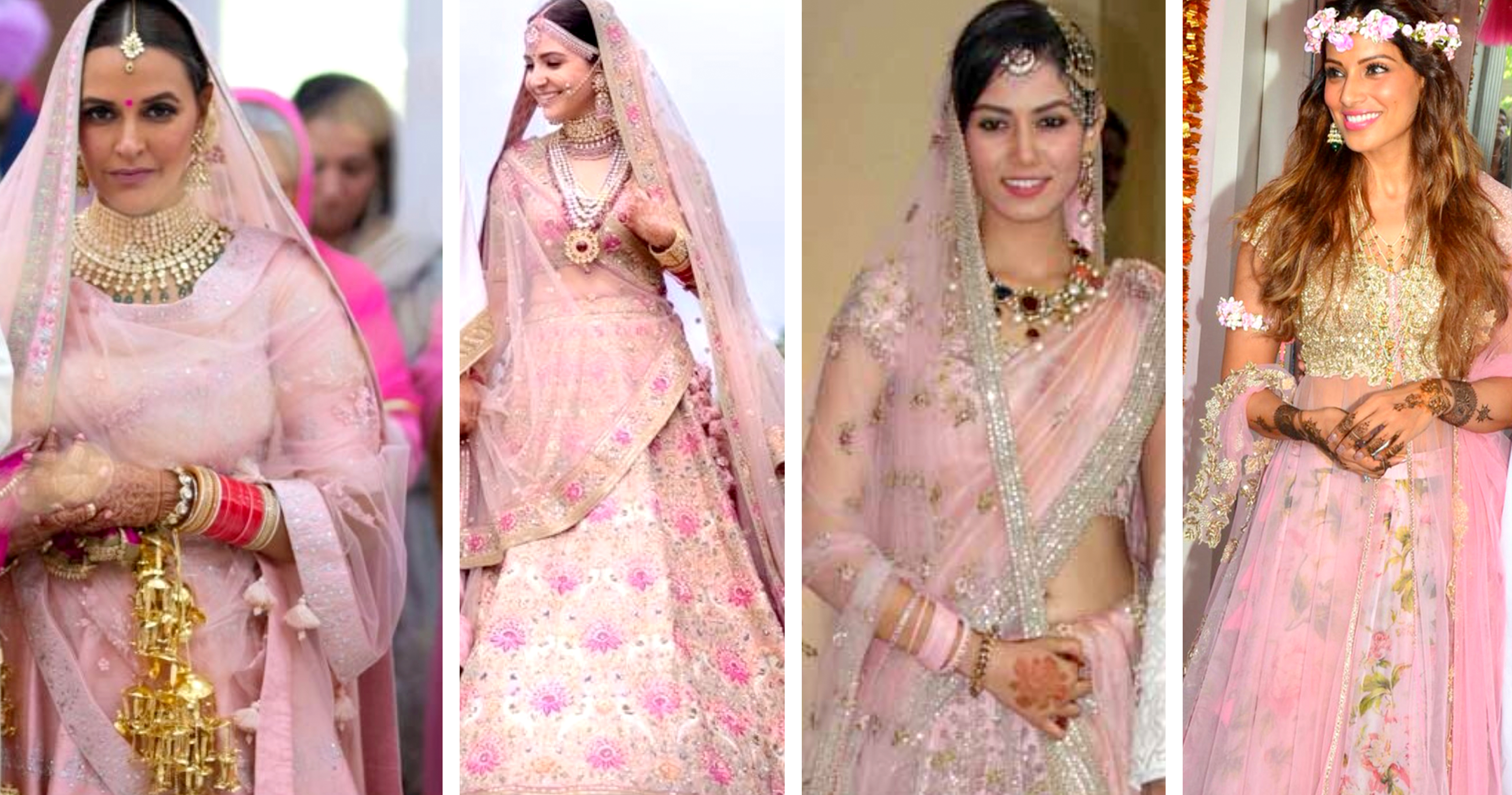 Image result for bollywood actress wedding lehengas