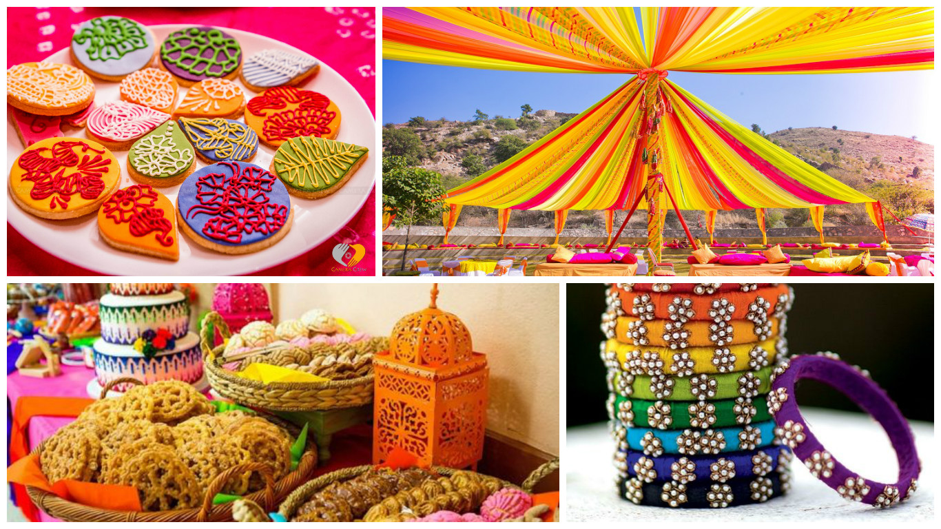 Rainbow Themes To Brighten Up Your Indian Wedding Celebration Blog