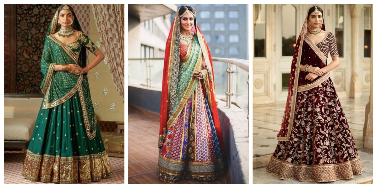 cd3e6d5e9c If you are an Indian bride who is about to get married, it is impossible  that you haven't considered wearing a Sabyasachi lehenga on your big day.