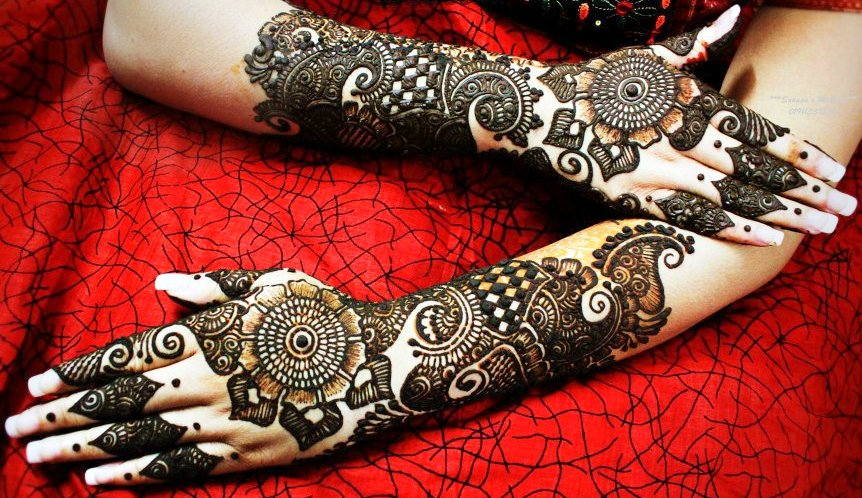 Mehndi Bridal Design Latest : Latest bridal mehndi designs to have love of lady