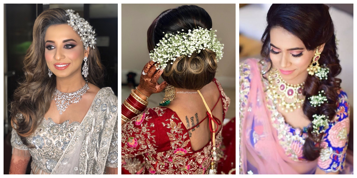 Wedding Hairstyle Ideas For Mehndi Sangeet Wedding