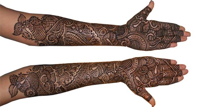 Mehndi Art Designs : Kamaljeet mehndi artist mumbai portfolio
