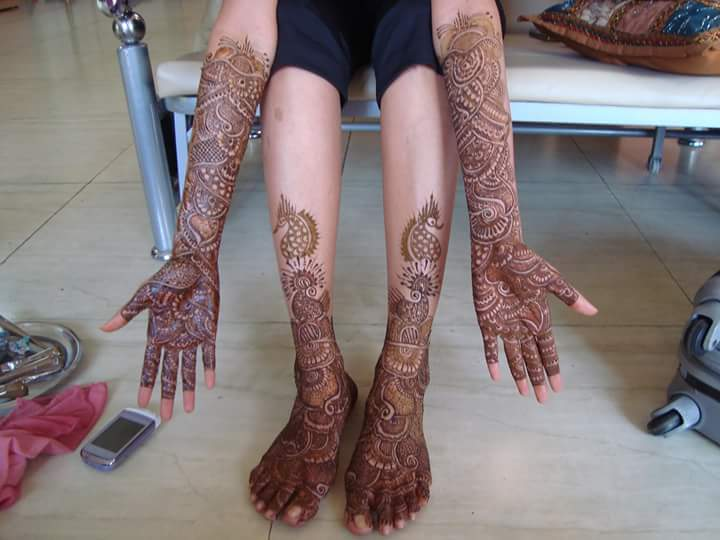 Bridal Mehndi In Bangalore : Mahek mehndi artist bangalore portfolio