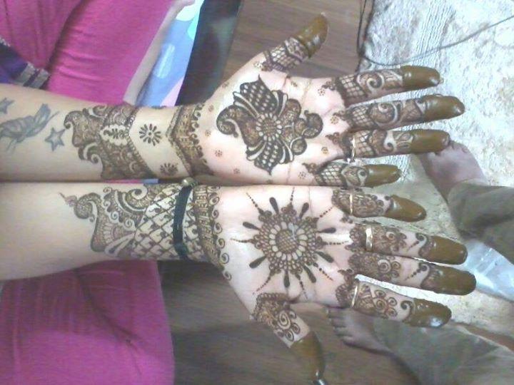 Bridal Mehndi In Bangalore : Rahul mehndi artist bangalore portfolio