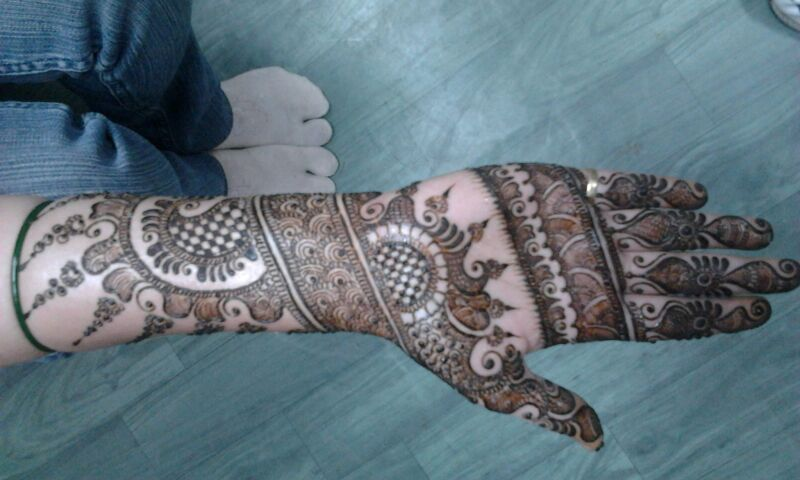 Bridal Mehndi Artist In Bangalore : Rahul mehndi artist bangalore portfolio