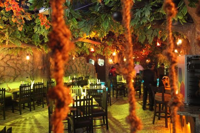 Rainforest Cafe Banquet Menu